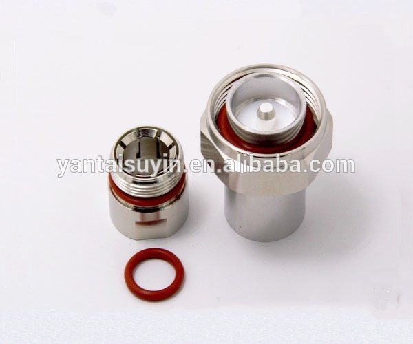 1/2 feeder cable connector 7/16 din plug